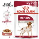 Pliculeț Royal Canin Medium Adult 140 g