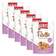 Săculeț RINTI Filetto pui + șuncă, 6 x 100 g