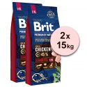 Brit Premium by Nature Senior Large și Extra Large 2 x 15 kg