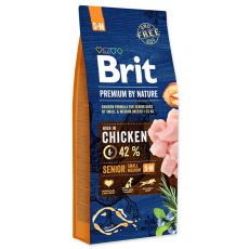 Brit Premium by Nature Senior Small și Medium 15 kg