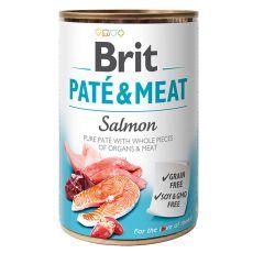 Conservă Brit Paté & Meat Salmon, 400 g