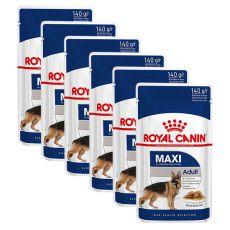 Plicule Royal Canin Maxi Adult 6 x 140 g