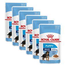 Pliculeț Royal Canin Maxi Puppy 6 x 140 g