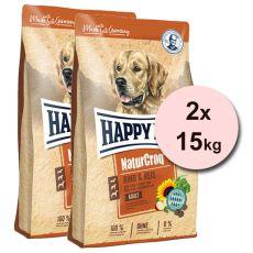 Happy Dog Natur-Croq RIND & REIS 2 x 15 kg