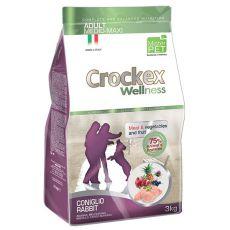 Crockex Adult Iepure și orez 3 kg