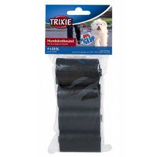 Pungi de plastic pentru deșeuri, negru - 4 x 20 buc