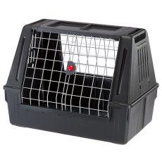 Cușcă de transport câini pentru automobil  Ferplast ATLAS CAR 100 SCENIC, neagră