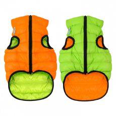Vestă AiryVest Colar portocaliu - verde, XS 30