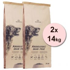 Magnusson Meat & Biscuit GRAIN FREE 2 x 14 kg