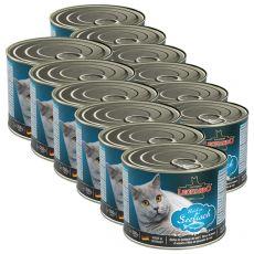Leonardo - Pește, conservă pentru pisici 12 x 200g
