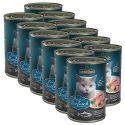 Leonardo - Pește, conservă pentru pisici 12 x 400g