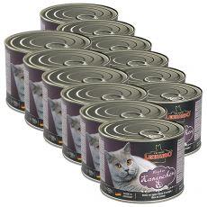 Conservă pentru pisici Leonardo - cu carne de iepure 12 x 200g