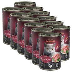 Leonardo conservă pentru pisici -  cu carne de pui 12 x 400g