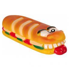 Jucărie pentru câine - baghetă scârțâitoare din vinil 18 cm
