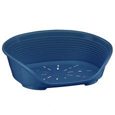 Pat pentru câine  SIESTA DELUXE 4 - albastru