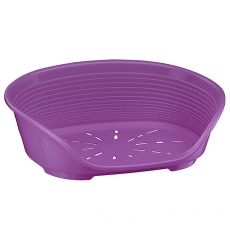 Pat pentru câine SIESTA DELUXE 12 - violet