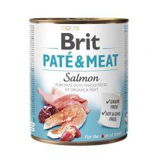Conservă Brit Paté & Meat Salmon, 800 g