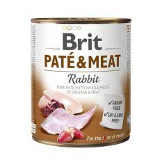 Conservă Brit Paté & Meat Rabbit, 800 g