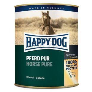 Happy Dog Pur - Pferd 800 g / cal