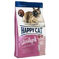 Happy Cat Sterilised Voralpen Rind / Carne de vită  1,4 kg