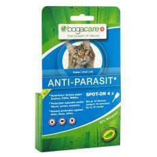 Picături antiparazitare BOGACARE Anti Parasit Spot-On CAT, 4 buc