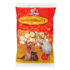 Mini biscuiti pentru caini120 g
