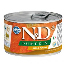 Farmina N&D dog Quail & Pumpkin can 140 g