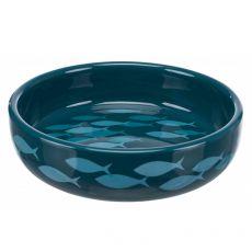 Bol ceramic potrivit pentru câini și pisici cu nasul plat 0,3 L