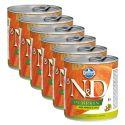 Farmina N&D dog Boar & Pumpkin & Apple can 6 x 285 g, 5+1 GRATUIT