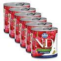 Farmina N&D dog Quinoa Weight Management 6 x 285 g, 5+1 GRATUIT