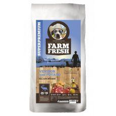 Farm Fresh Venison and Potato 15 kg