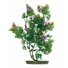 Plantă de acvariu – plastic, 28 cm flori violete