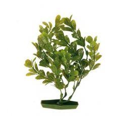 Planta pentru acvariu - plastic, 17 cm frunze verzi