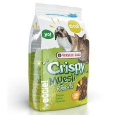 Crispy Muesli Rabbits 1 kg - hrană iepure