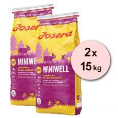 JOSERA Miniwell Adult 2 x 15 kg