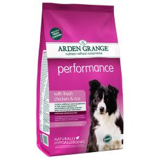 ARDEN GRANGE Performance with fresh chicken & rice 2 kg