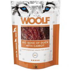 WOOLF Big Oase de rață cu morcov 100g