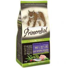 Primordial GF Cat Sterilizzato Curcan & hering 2 kg