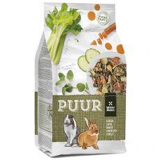 PUUR Rabbit - gourmet müsli pentru iepuri 2 kg