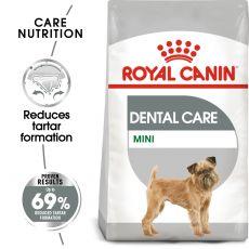 ROYAL CANIN Mini Dental Care granule pentru câini reducând formarea tartrului de 3 kg