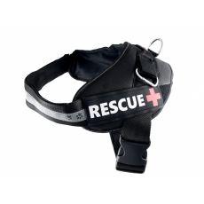 Ham  pentru câini Rescue XXL 80 - 110 cm, negru