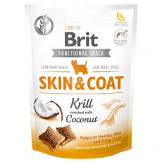 Brit Care Dog Functional Snack SKIN & COAT Krill 150 g