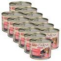 CARNY KITTEN Carne de vită + inimă de curcan 12 x 200 g