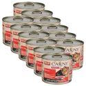 Hrană umedă CARNY ADULT carne de vită 12 x 200 g