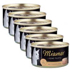 Conservă Miamor File ton și brânză 6 x 100 g
