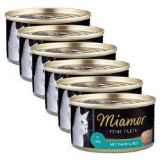 Conservă Miamor File ton și orez 6 x 100 g