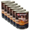Conservă ONTARIO Culinary Chickpea, Chicken and Curry 6 x 800 g