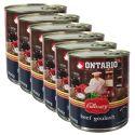 Conservă ONTARIO Culinary Beef Goulash 6 x 800 g