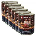 Conservă ONTARIO Culinary Minestrone Chicken and Lamb 6 x 800 g