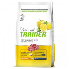 Trainer Natural Small and Toy Adult, vită și orez 2 kg